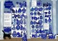 Delftware cats by Laura Winstone