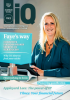 IQ magazine front cover with Faye Holland