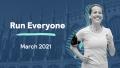 Run everyone banner_woman runner