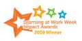 Learning at Work Week Impact Award winner banner