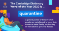 Quarantine is word of the year_banner