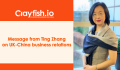 Message from Ting Zhang on UK-China business relations