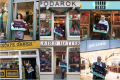 collage of shop fronts