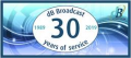 dB Broadcast banner celebrating 30 years of business