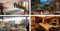 Images of four new hotels that have joined the Meet Cambridge portfolio.