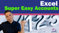 Excel Super Easy Accounts Poster File