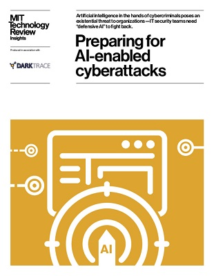 Preparing for AI-enabled cyberattacks - MIT Technology Review cover