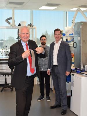 Daniel Zeichner visits Xampla